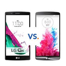 Vergelijk LG G3 G4