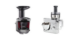 Juicer attachment for stand mixers