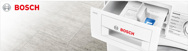 Alles over Bosch wasmachines