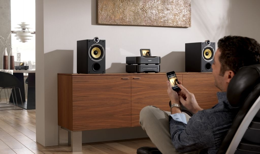 Muziek afspelen in huis