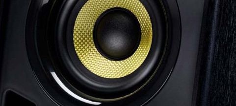 Hercules DJ monitor speakers