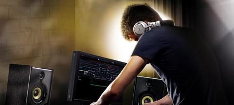 Hercules DJ hoofdtelefoons