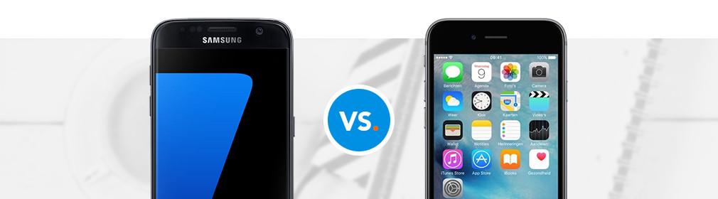 Iphone Se En Samsung S7 Vergelijk