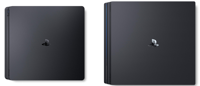 Het ontwerp van de PS4 Pro