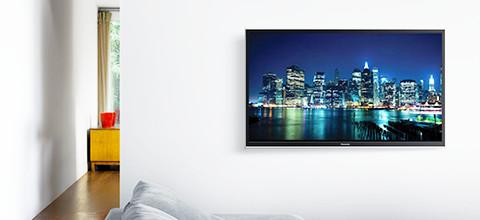 Platte televisie