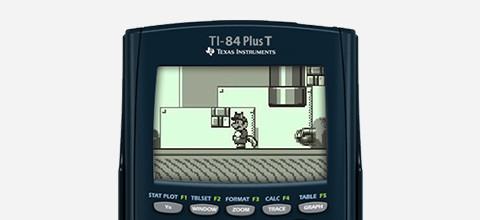 Mario op TI 84 Plus T
