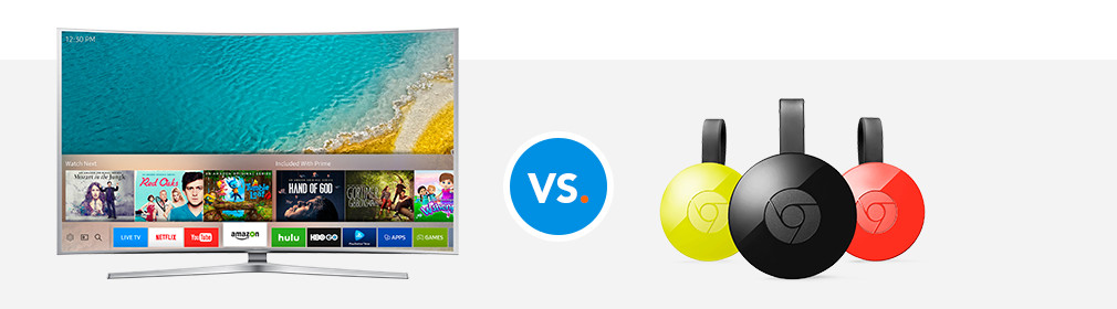 Smart tv vs Chromecast