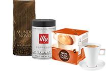 Koffie voor koffiemachines