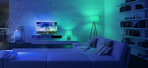Ambilight en Philips Hue
