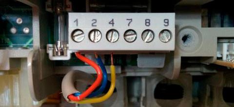 >Klemmenstrook voor thermostaten