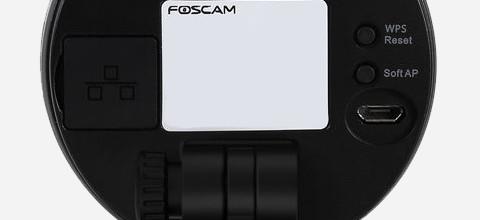 Netwerkpoort Foscam installatie