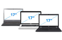 17 inch laptops