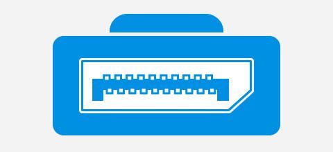 DisplayPort aansluiting