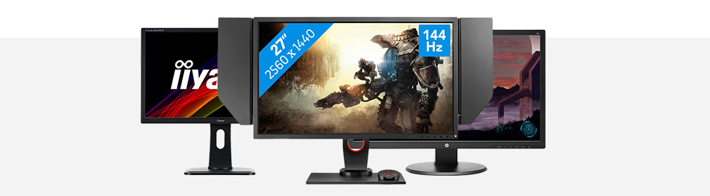 Header gaming monitor