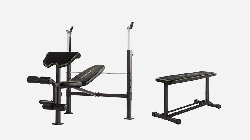 trainen op fitnessbanken