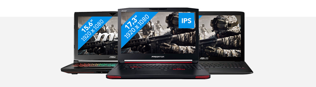 Header gaming laptop