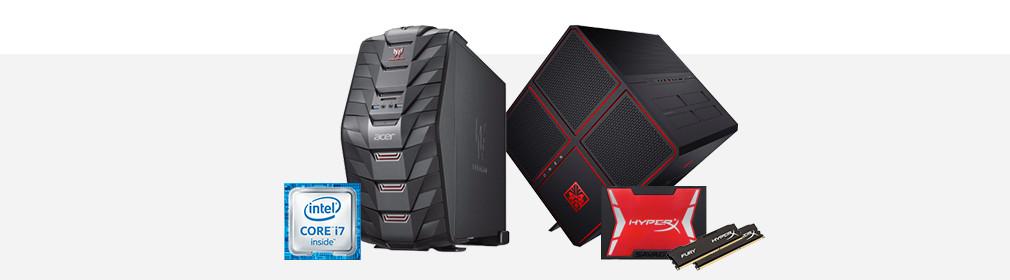 Kies een gaming PC - Banner