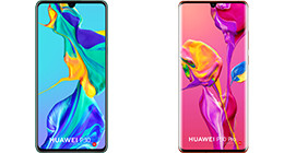 Everything on the Huawei P30 and P30 Pro