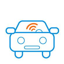 Wifi onderweg in auto