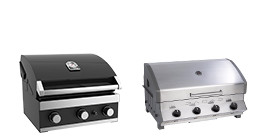 Inbouw barbecues