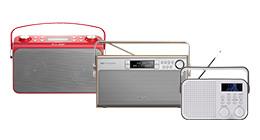 Draagbare radio's