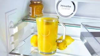 Kan limonade in Miele koelkast