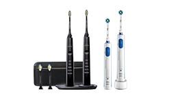 Duo elektrische tandenborstels