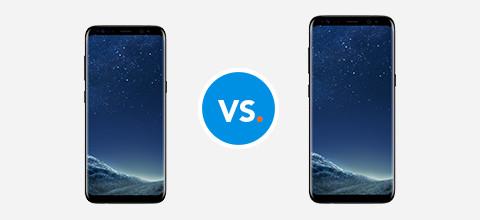 Vergelijk de Samsung Galaxy S8 Plus