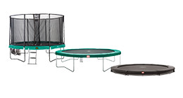 Ronde trampolines