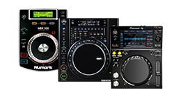 DJ cd en mediaspelers