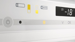 Bedieningspaneel koelkast