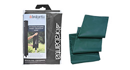 Protective covers for umbrella drying racks