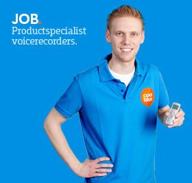 Product specialist bij Voicerecordershop.nl