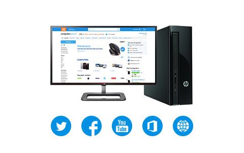 Desktop internetten en mailen