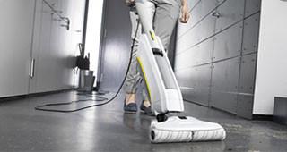 Karcher Floor Cleaner zuigen en dweilen