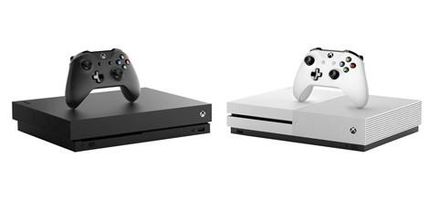 Xbox One X design