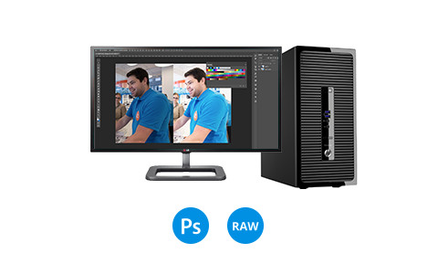 Desktop fotobewerking