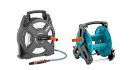 Système de rangement de tuyau d'arrosage Gardena