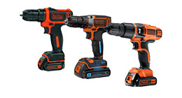 Black & Decker boormachines