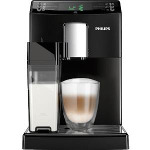 Espressomachine met melkreservoir