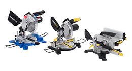 Powerplus radial arm saws