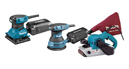 Makita schuurmachines