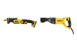 DeWalt reciprocating saws