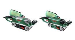 Bosch belt sanders