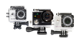 Salora action cameras