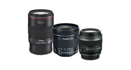Objectif d'appareil photo Canon