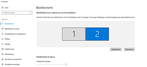 Windows 2 schermen