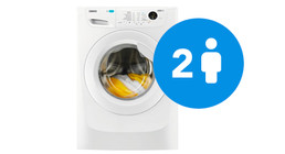 Wasmachines met 7 kg vulgewicht