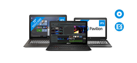 laptop processor videobewerking