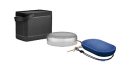 Bang & Olufsen bluetooth speakers